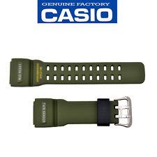 CASIO G-SHOCK Watch Band Strap Mudmaster GG-1000-1A3 Original Green Rubber