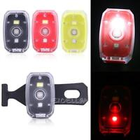 USB Rechargeable COB LED Bicycle Bike Cycling Front Rear Tail Light 2-Modes Lamp