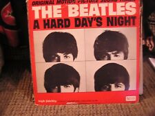 The Beatles Ual 3366 A Hard Days Night mono