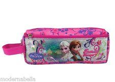 Astuccio scuola portamatite Frozen Elsa e Anna,glitter portacolori, Tombolino