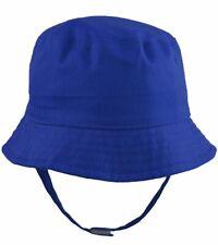 Pesci Baby Boys Girls Summer Bucket Sun Hat With 6 - 12 Months Blue (royal)