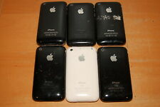 Lot of 6 Apple A1303 & A1241 3G 3Gs iPhone for parts or repairs