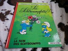 SCHTROUMPF LA SCHTROUMPFETTE PEYO DUPUIS EDITION 1986 TRES BON ETAT, voir photos