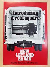 New Leyland EA Van original sales brochure