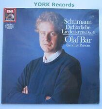EL 27 0364 1 - SCHUMANN - Dichterliebe / Liederkreis OLAF BAR - Ex Con LP Record