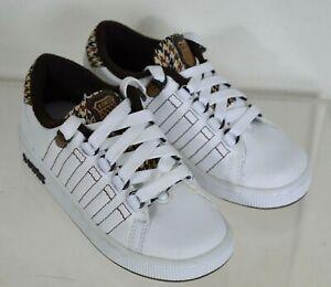 K-Swiss Child's Lozan II Tongue Twister Sport Trainer Shoes Kids Size UK 10