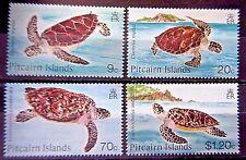 Pitcairn islands 1986 Turtles Set. MNH.