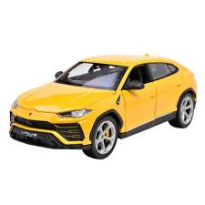 Welly 1/24 Lamborghini URUS Yellow Diecast MODEL Racing SUV Car NEW IN BOX