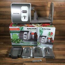 Salter Electric Spiralizer Let's Go Healthy Fruit & Vegetable Noodles & Salads