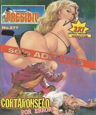 RELATOS DE PRESIDIO MEXICAN COMIC #277 MEXICO SPANISH HISTORIETA 2000 CRIME