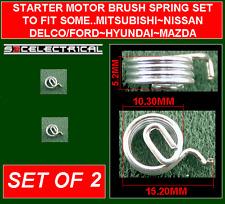 STARTER MOTOR BRUSH SPRING X 2 FOR SOME DELCO FORD MAZDA MITSUBISHI NISSAN ETC