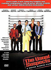 The Usual Suspects (DVD, 2001) very g ood condition