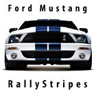 Ford Mustang Shelby Cobra racing stripes vinyl decal set rally twin dual Le mans