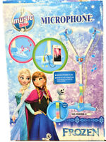 Frozen Stand Music Microphone Musical Voice Tube Toy Sound Light Kid Gift AU
