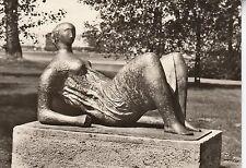 Ansichtskarte - Henry Moore / Liegende (Skulptur in Berlin-Zehlendorf)
