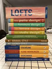 Bücher Wohnen Einrichten 12 Stück