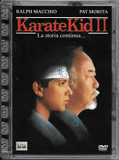 "FILM DVD SUPER JEWEL BOX ""THE KARATE KID 2 LA STORIA CONTINUA"" COLUMBIA DC 21020"