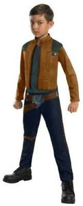 Star Wars Han Solo Costume Boy Size Large L (10-12) Halloween Theater Cosplay