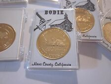 """Gold Rush """"1"""" Commemorative Bodie Ghost Town American Prospector Coin #701B1"""