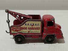 THAMES TRADER WRECK TRUCK ROT MATCHBOX SERIES LESNEY Nr.13c ENGLAND 1960-1965
