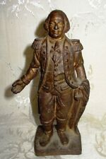 "Antique Cast Iron USA Still Bank George Washington 6.5"" inches in Height,"
