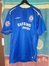 Maillot chelsea 2005 2006 # lampard 8 # CL Camiseta Jersey Maglia shirt vintage