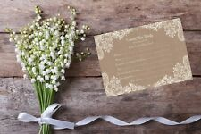 Personalised Hen Party Bride To Be Advice Cards Invite BA10