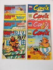 8x MV 68 - Mickyvision Comix 1968 - Heft 11.27.32.34.39.42.43.51. Ehapa, Comic.