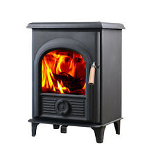 Hot sale HiFlame EPA Certified 21,000 BTUs Small Wood Heating Stove HF905U Black
