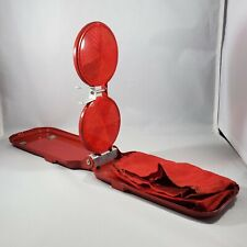 Vtg Miro-Flex Miro-Flare Model 18 Collapsible Vehicle Emergency Road Reflector