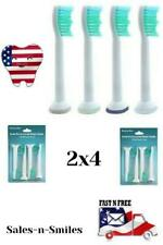 8 Sonic Replacement Brush Heads for Soni Care Pro Results HX6014 - USA