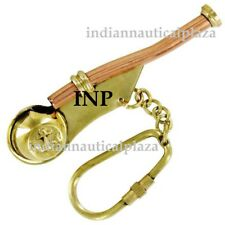 Bosun's Whistle Brass & Copper Boatswains Pipe Nautical Vintage Whistle Gift