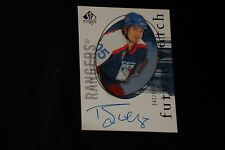 RYAN HOLLWEG 2005-6 SP AUTHENTIC CERTIFIED AUTHENTIC SIGNED AUTOGRAPHED CARD
