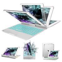 "ipad pro 10.5""/Air 3 Aluminum F105 Bluetooth Keyboard Case 360 Rotating Stand"