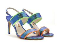 SOPHIA WEBSTER SHOES RENATA SIZE 39 Exclusive Retails @ £195 Recycled Collection
