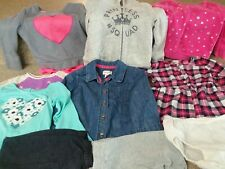 Girls 2t Mixed Clothes Lot 10 Pieces GAP Cat & Jack Children's Place FALL WINTER