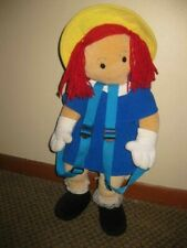 "1997 Wildkin 24"" Madeline Doll Plush Backpack"
