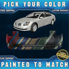 NEW Painted To Match- Front Bumper Cover for 2004 2005 2006 Nissan Maxima 04-06