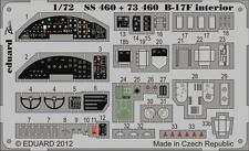 Eduard Zoom SS460 1/72 Revell Boeing B-17F Flying Fortress interior