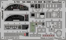 Eduard Zoom ss460 1/72 REVELL Boeing b-17f FLYING FORTRESS interni