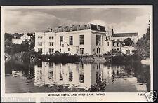 Devon Postcard - Seymour Hotel and River Dart, Totnes   RT2070