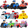 Paw Patrol Dog Puppy Patrol Car Model Toy Chase Marshall Ryder Vehicle Car Kids