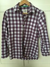 Boys' Checked Collared T-Shirts, Tops & Shirts 2-16 Years