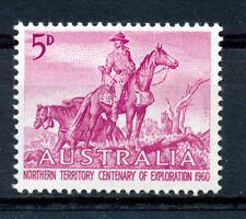 AUSTRALIA 1960 CENTENARY OF NORTHERN TERRITORY EXPLORATION SG335  MNH