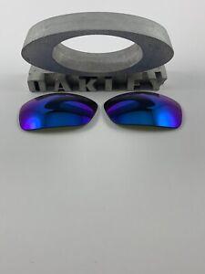 Oakley Crosshair 2.0 Sapphire Iridium Replacement Lenses Custom OEM NEW