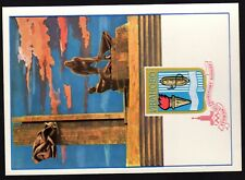 RUSSIA 1980 OLYMPIC GAMES Commemorative Card & Postmark