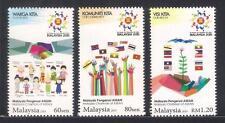 2015 MALAYSIA CHAIRMAN OF ASEAN (3v) MNH