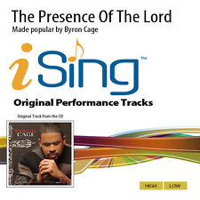 Byron Cage - The Presence Of The Lord - Accompaniment Track