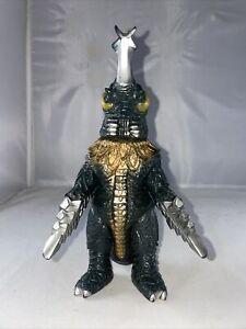 "1991 BANDAI Godzilla 8.5"" MEGALON Kaiju Movie Monster Tsuburaya Megalo vinyl"