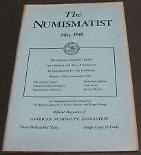Antique - Numismatist 1948 Caecilian Elephant Denarii, Coin Motto Translations +